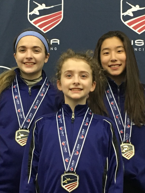 Congratulations to our fencers on 6 Medals at the North American Cup in Baltimore, MD!