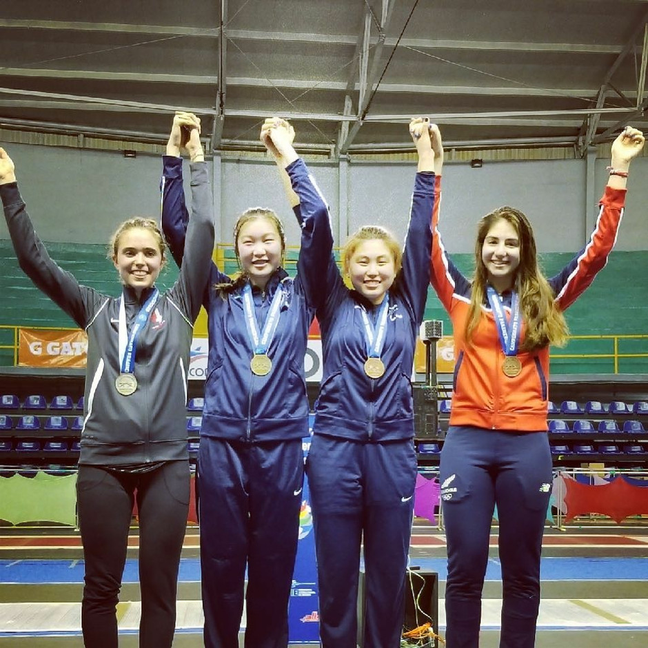 Congratulations to Haley Koo on 3rd Place at the Pan-American Championships!