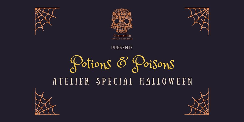 Atelier Potions et Poisons Spécial Halloween