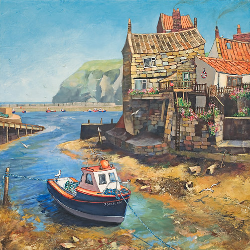 FISHING BOAT, STAITHES BECK
