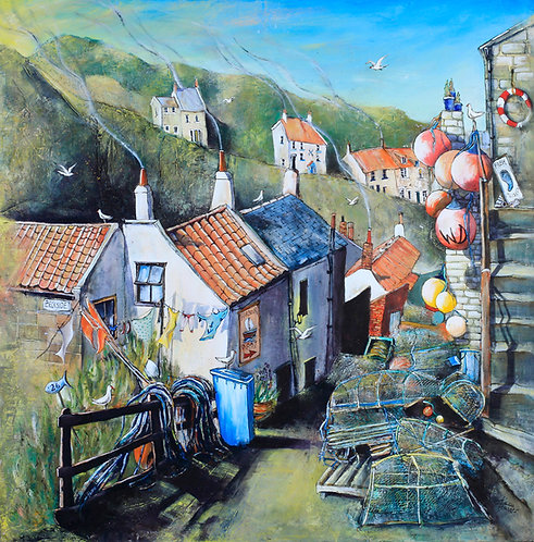 DOWN TO THE HARBOUR, STAITHES