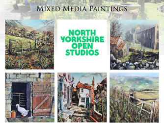Nearly time for North Yorkshire Open Studios!