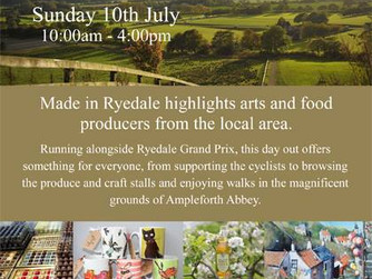 Made in Ryedale - Sunday 10th July
