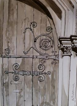 BALLIOL COLLEGE MAIN GATE, OXFORD