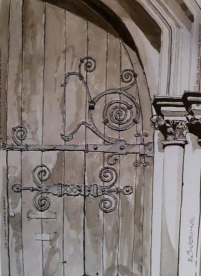 BALLIOL DOOR