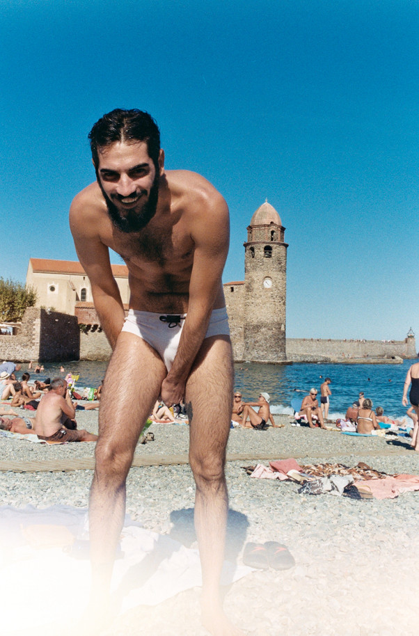 Babe in Collioure
