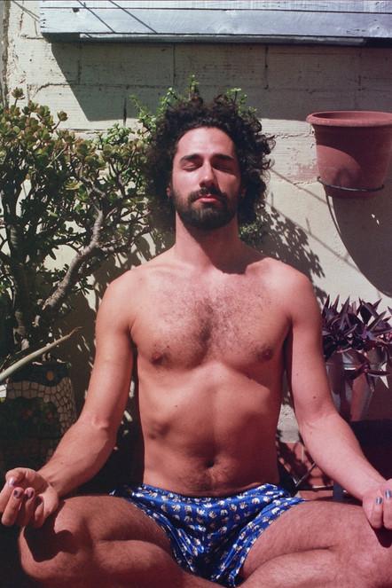Meditating Selfportrait 6
