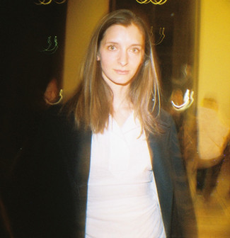 Rose Van Boss Traeten at Jacquemus Fashion Show