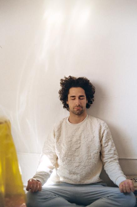 Meditating Selfportrait 5