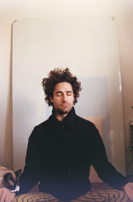Meditating Selfportrait 3