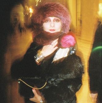Catherine Baba at Jacquemus fashion show