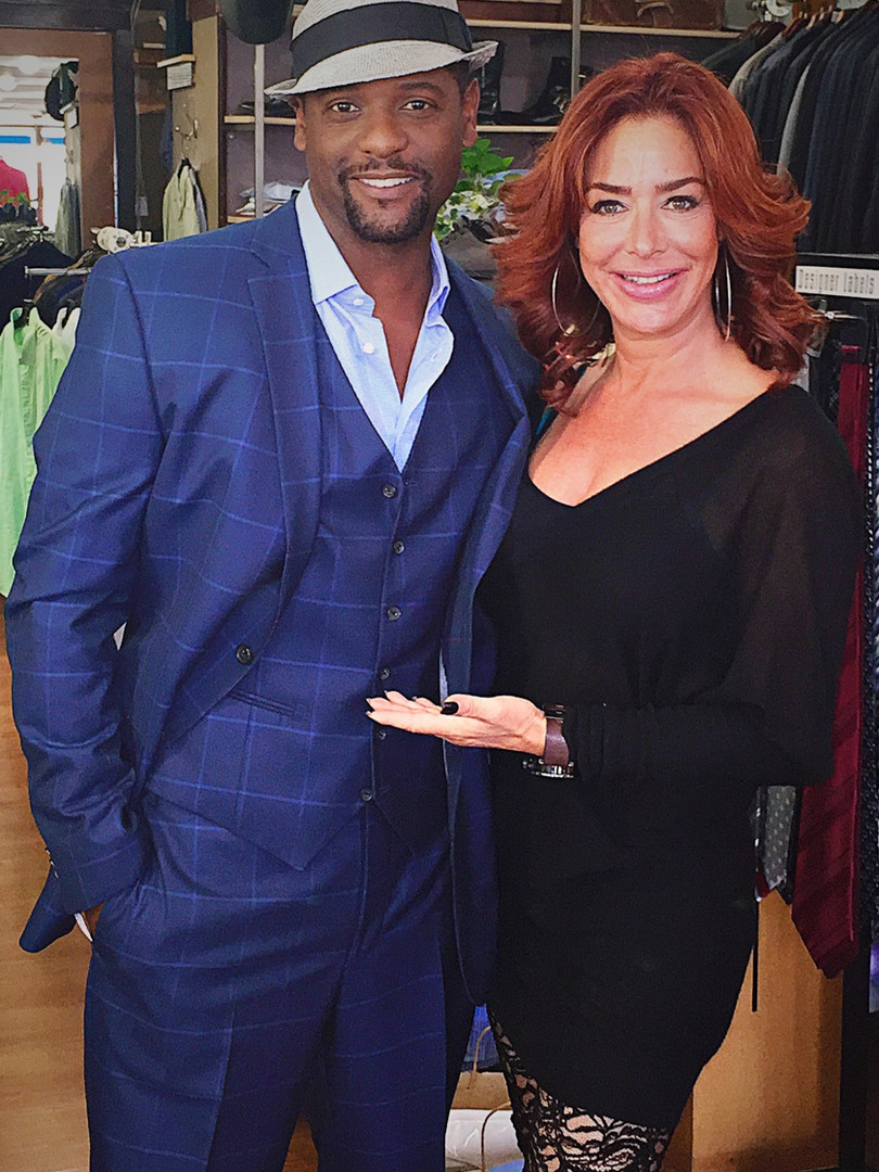 Claudia Wells with Blair Underwood