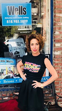 Claudia in BTTF shirt.jpg
