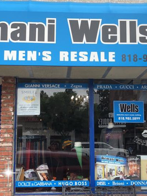 Armani Wells Store Front