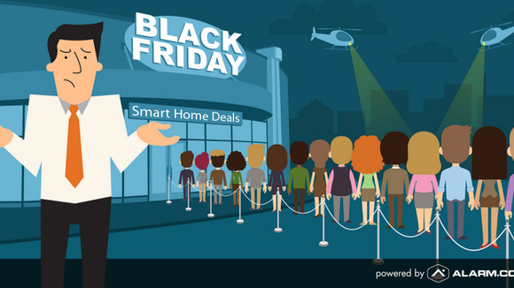 Shop Smart this Black Friday with      EMS Alarm Systems and Alarm.com