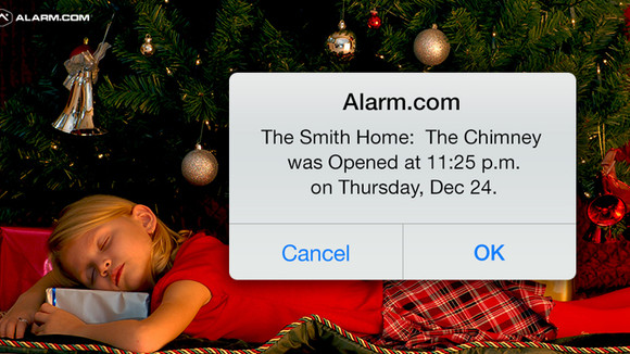 How to Create a Santa Alert for your Kids.