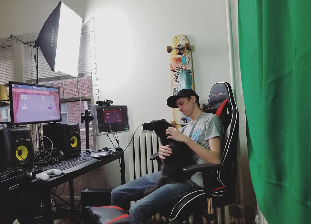BuhDihKuh in his Streaming Station