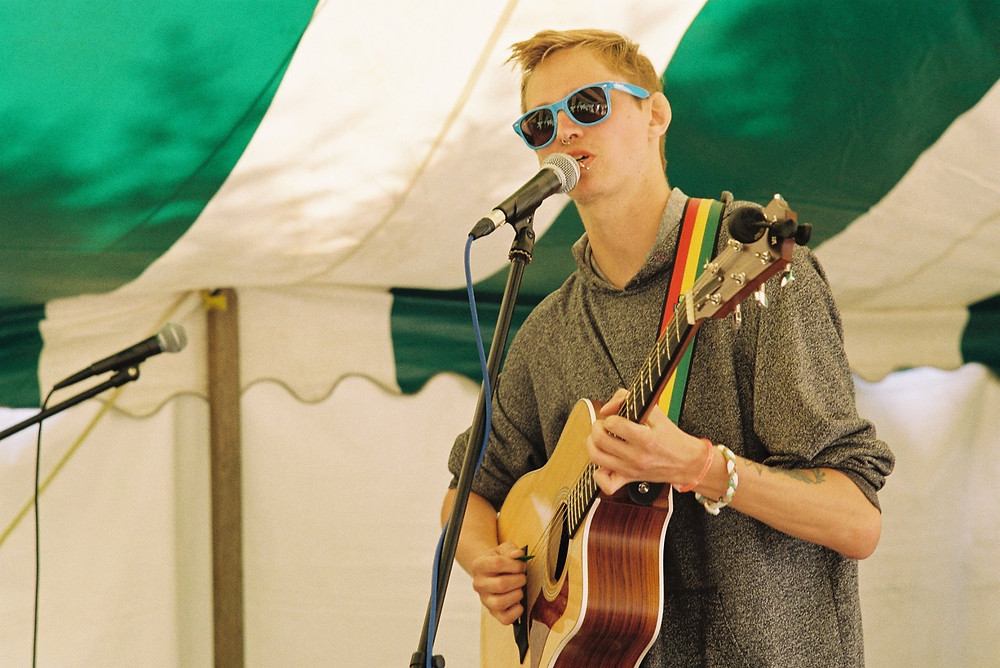 Me performing at a festival 2 weeks ago