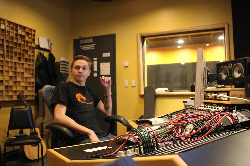 BuhDihKuh In The Studio