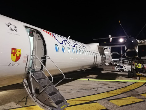 (VAŠE PRIČE) Let Croatia Airlinesa iz Zagreba preko Zadra u Pulu