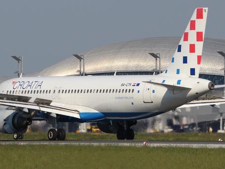 Croatia Airlines planes active on charter flights across Europe!