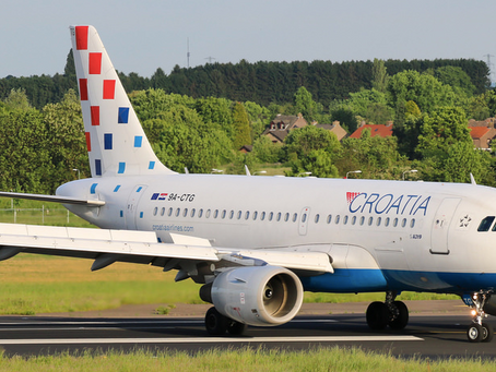 Croatia Airlines operated charter flight to Romania with Dinamo team