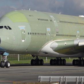 Poletio posljednji proizvedeni A380!