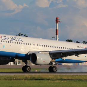 Croatia Airlines plans 33 international routes to 4 airports in Croatia!