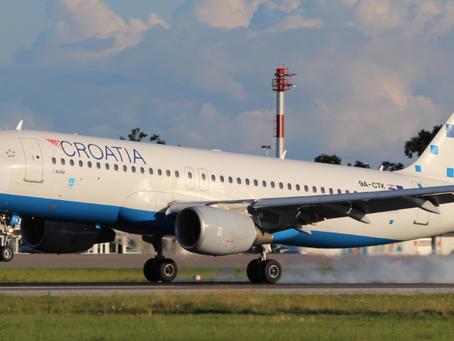 Croatia Airlines ovog ljeta planira 33 međunarodne linije iz 4 zračne luke!
