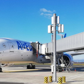 Why are air bridges almost always on the left side of an aircraft?