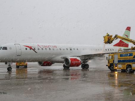 (DE/ANTI-ICING) Smije li zrakoplov s naslagama snijega i leda poletjeti?