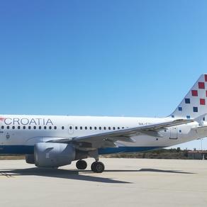 Croatia Airlines otkazala letove oko Uskrsa prema Osijeku i Braču