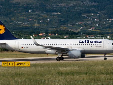 Lufthansa do kolovoza ima najavljena 54 tjedna leta prema Hrvatskoj