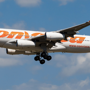 A340 Conviase danas u Zračnoj luci Dubrovnik