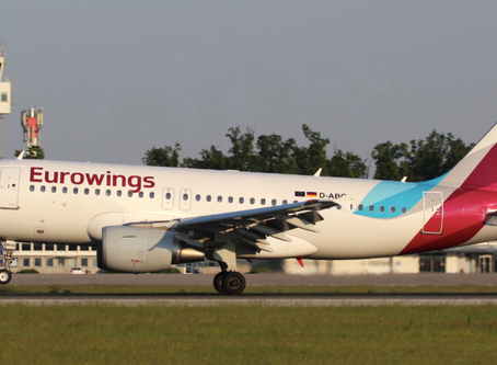 Eurowings reduces flight schedule for Croatia