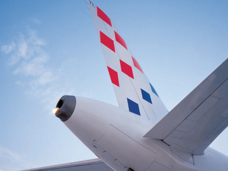 Croatia Airlines December timetable from Zagreb and Split Airport