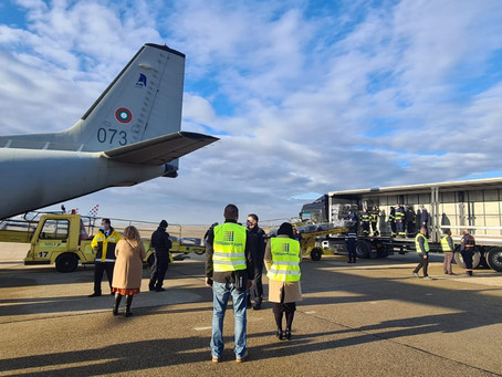 (VIDEO, PHOTO) Humanitarian aid planes from Bulgaria, Portugal and Poland landed at Zagreb Airport!