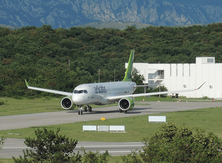 AirBaltic scheduled flights to Dubrovnik and Split