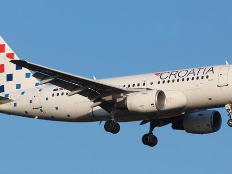 Croatia Airlines do kraja studenog prometuje prema 12 međunarodnih odredišta