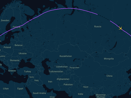 Russian airspace - the most expensive one in the world!