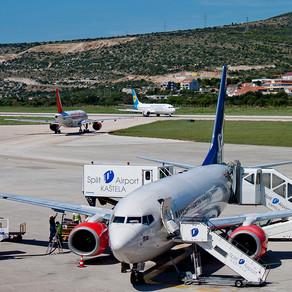 U Splitu danas 40 slijetanja i 40 polijetanja na 26 redovnih linija!