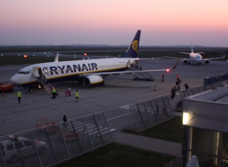 When will Osijek have direct flights to London and Dublin?