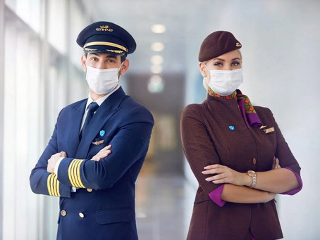 Etihad Airways is the first airline in the world with 100% vaccinated crew!