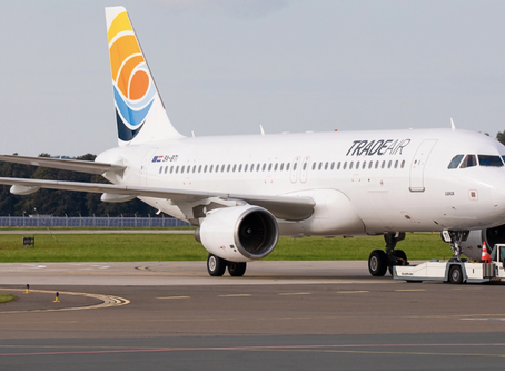 Trade Air takes over new A320!