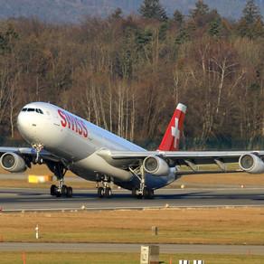 A340 Swiss Aira u Zračnoj luci Pula