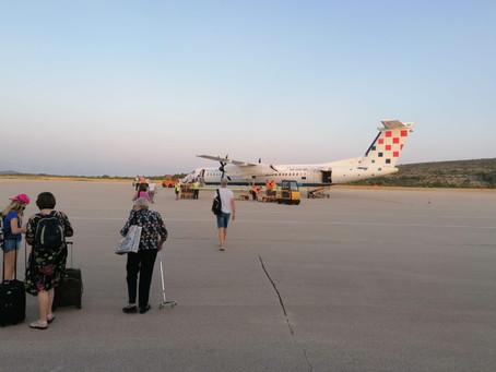 U rujnu više putnika na Braču nego u Osijeku