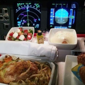 What do pilots eat different food from their passengers?