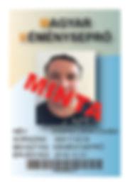 Magyar Kéményseprő azonosító kártya