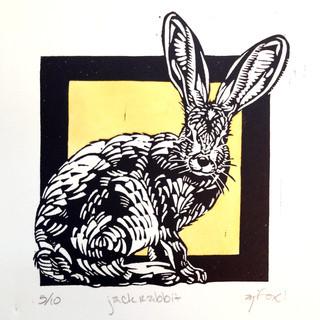 Jackrabbit Commission Print