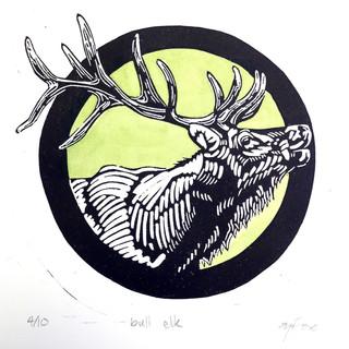 Elk Commission Print